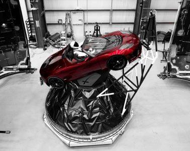 Tesla Roadster i Starman Fot. Elon Musk/Instagram