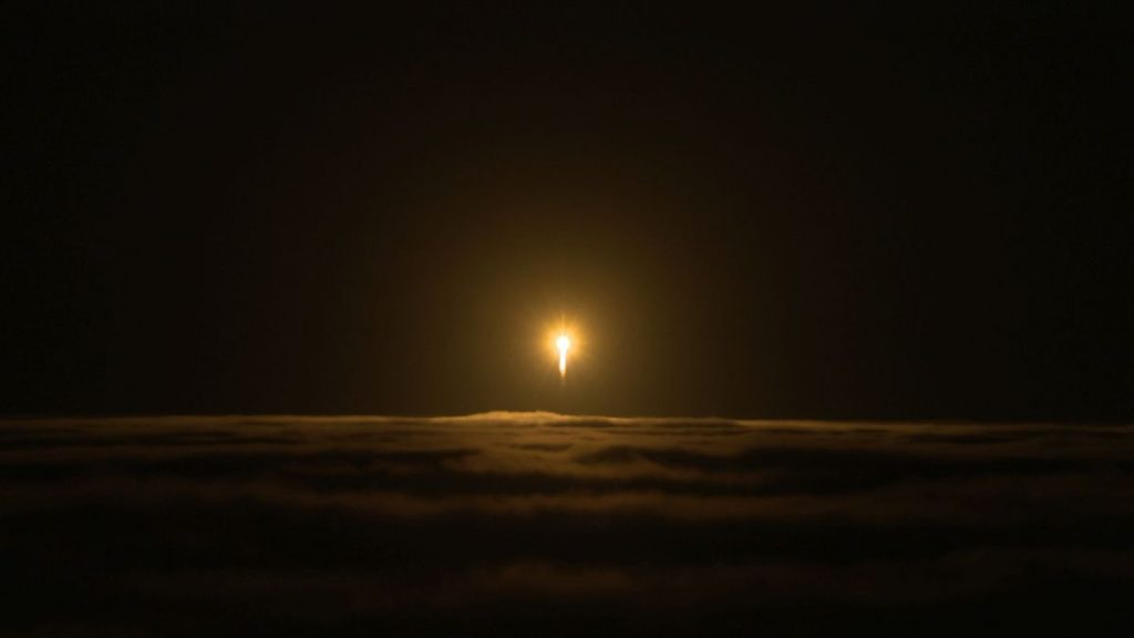 Start rakiety Atlas V z sondą InSight Fot. NASA