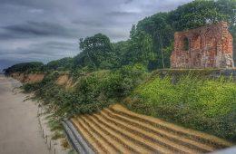Kościół, który został (prawie) pochłonięty przez Bałtyk - śpieszcie się go zobaczyć!
