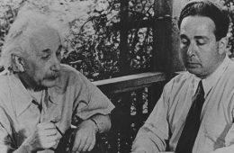 Albert Einstein i Leó Szilárd
