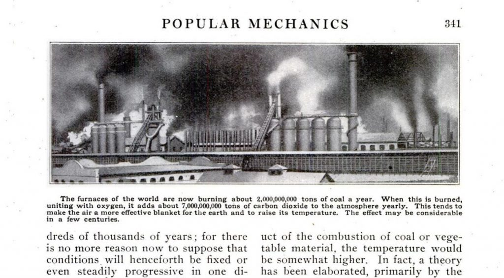 Popular Mechanics z kwietnia 1912 roku. Fot. Google Books
