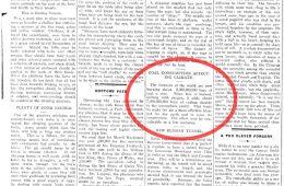 W gazecie z 1912 roku dokładnie opisano globalne ocieplenie