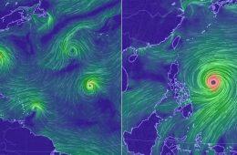 Supertajfun, huragan i jeszcze 5 cyklonów tropikalnych - oceany szaleją