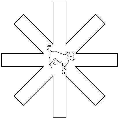 Labirynt ośmioramienny zastosowany w badaniu