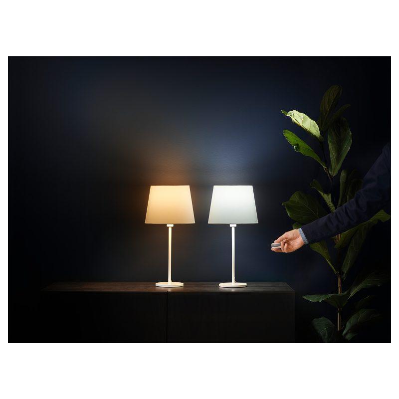 Lampy TRÅDFRI z możliwością zmiany barwy światła Fot. IKEA