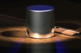Wizualizacja wzorca kilograma, który obowiązuje jeszcze do 20 maja 2019 roku. Fot. User:Greg L