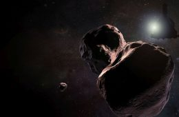 Wizja sondy New Horizons w pobliżu Ultima Thule Rys NASA/Johns Hopkins University Applied Physics Laboratory/Southwest Research Institute/Steve Gribben