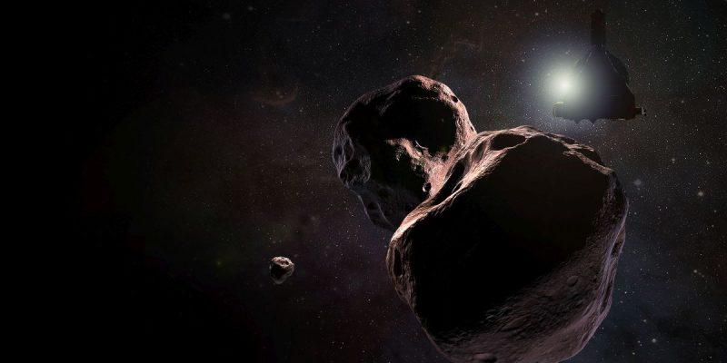 Wizja sondy New Horizons w pobliżu Ultima Thule Rys NASA/Johns Hopkins University Applied Physics Laboratory/Southwest Research Institute/Steve Gribben