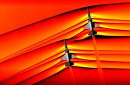 NASA po raz pierwszy uchwyciła interakcje fal uderzeniowych dwóch samolotów