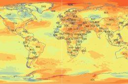 Świat się podgrzewa, lód topnieje - raport Światowej Organizacji Meteorologicznej za 2018 rok