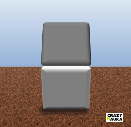 Iluzja polegająca na odmienny postrzeganiu koloru kafelków.