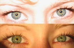 te same oczy inne światło
