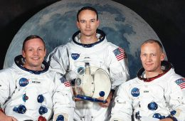 Armstrong, Aldrin i Collins – astronauci misji Apollo 11