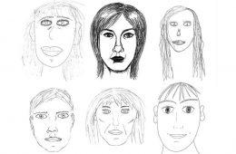 Dlaczego twarze, które rysujemy, wyglądają trochę neandertalsko?