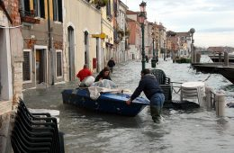 Wenecja: przez zmiany klimatu będzie więcej takich powodzi