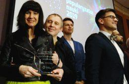 Zdobyliśmy nagrodę Popularyzator Nauki i dwie statuetki POP Science!