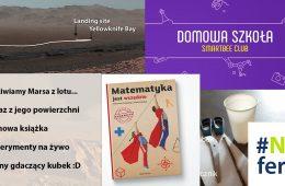 #NIEferie - dzień 8 - wideo z Marsa, książka do pobrania i duuużo eksperymentów