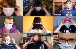 Noś maskę w pomieszczeniach! Akcja Crazy Nauki i influencerów