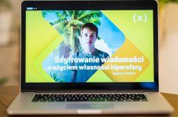 14-latek z Wrocławia stworzył algorytm do szyfrowania i wygrał Konkurs Naukowy E(x)plory 2020!