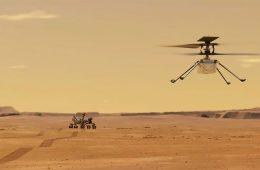 Historyczny pierwszy lot marsjańskiego drona Ingenuity!