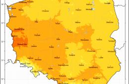 Klimat Polski 2020 – coraz goręcej. Raport IMGW